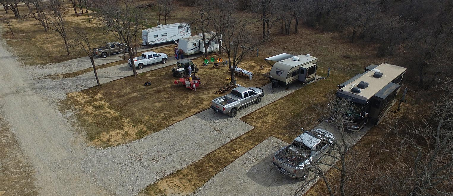 Campers at Hog Mountain RV Ranch